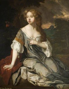 Portrait of the Honourable Mrs Lucy Loftus, 1667 Peter Lely