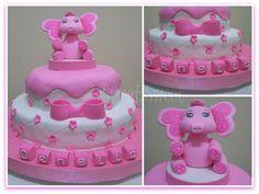 Torta Bautismo Cumpleaños para nena