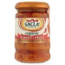 Sacla Organic Tomato Pesto 190g