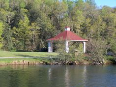 Morse Park in Lake Lure, NC is a wonderful scenic walk.