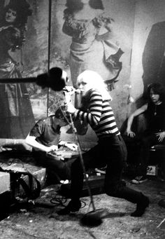 Blondie, Punk Magazine benefit, CBGB. 1977. In his photographs of the 1970s music scene, David Godlis helped capture the grit and urgency of the era.