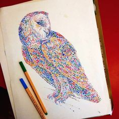 Majestic Animals Envisioned as Hundreds of Multicolored Dots - My Modern Met