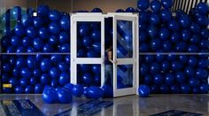 Martin Creed, Work No. 628: Half the Air in a...#art