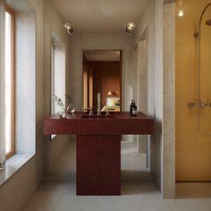 Contemporary Bathroom Designs, Bathroom Design Luxury, Bathroom Design Small, Modern Bathroom, Baths Interior, Luxury Interior, Interior Architecture, Custom Furniture, Luxury Apartments