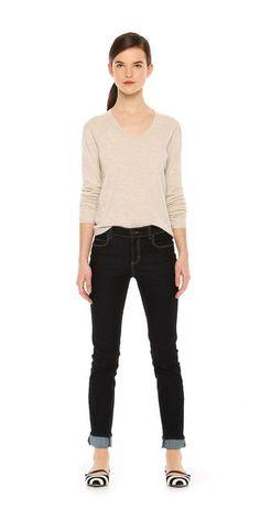 Grey Sweater (similar) $5 Joe Fresh.