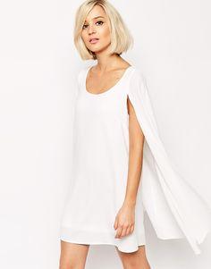 Lavish Alice - Robe droite style cape