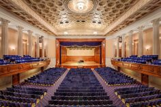 Stambaugh Auditorium Youngstown, Ohio Concert Hall