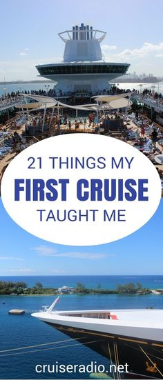 21 Lessons Learned From My First Cruise Your first cruise can be very overwhelming. Here are 21 lessons that I learned after returning from my first cruise vacation. Packing For A Cruise, Cruise Travel, Cruise Vacation, Disney Cruise, Vacation Trips, Shopping Travel, Italy Vacation, Vacation Ideas, Honeymoon Cruises
