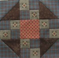 prairie queen; if you turned the four-patch on the left to the same orientation as the other three, I would like it better