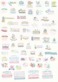 Estoy enamorada de estos stickers de mr wonderful geniales para utilizar siempre…