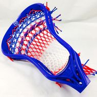 Warrior Burn with 3 color red, white and blue wax mesh.  Mid pocket.  Smooth release.