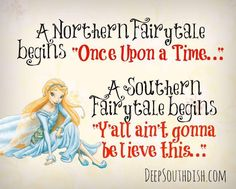 The southern fairytale...