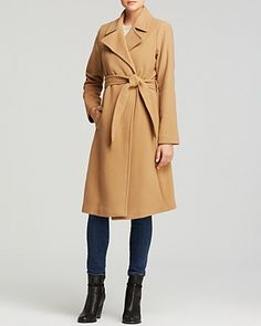 Lauren Ralph Lauren Cecile Wool Blend Blanket Wrap Coat | Bloomingdale's