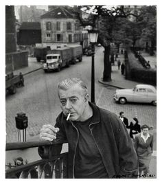 Jacques Prevert  Paris1955