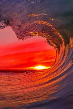 GoPro sunset Photo: Santa Cruz Waves
