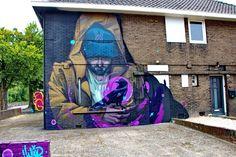 Street Art: Eindhoven - Netherlands Mr Woodland
