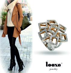 Línea de joyería para mujeres con personalidad.  // Linha de Jóias para mulheres com personalidade! // Jewelry line for women with personality!  #looxe #looxejewelry #jewelry #anellooxe #anel #modalooxe #mulherescompersonalidade #looxe #looxejewelry #jewelry #looxering #ring #looxefashion #womenswithpersonality #looxe #looxejewelry #jewelry #anillolooxe #anillo #modalooxe #mujeresconpersonalidad  ANL4167A  Foto by: stylishwife.com