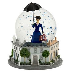 Mary Poppins Broadway Musical Snowglobe