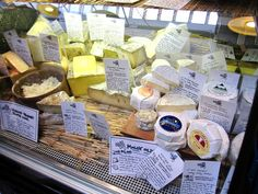 Madame Fromage: Anne Saxelby's cheese case, all American cheese