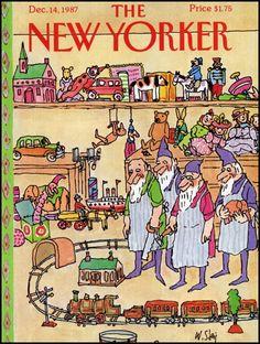 William Steig - New Yorker cover