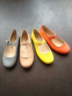 Mary Jane flats - in candy colors