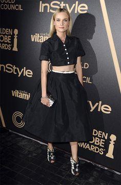 Diane Krueger-HFPA and InStyles Golden Globe Award Season Celebration