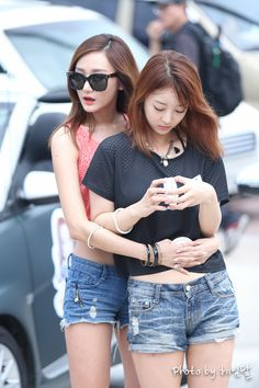 EXID LE and HyeRin