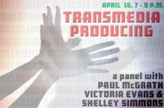 """From Transmedia 101 org in Toronto: Transmedia-producing - """"Transmedia storytelling is seven-tenths outlining and project management, two-tenths content creation, and one-tenth batshit insanity."""" Wish I could attend!"""