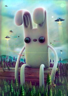 35 superbes illustrations numériques qui repoussent les limites de l'imaginaire