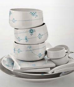 "Porcelain ""Elements""  by Louise Campbell for Royal Copenhagen"