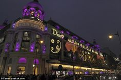 Exclusive buy: Christian Dior designed the illuminations and launched some special products at Printemps, Paris