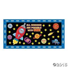 Mission of Faith Bulletin Board Set