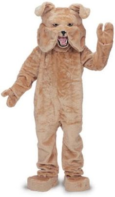 Rubies Costume Bull Dog Mascot Costume Tan Tan One Size ** Find out more about the great product at the image link.