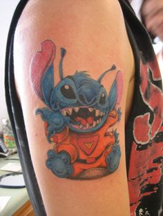 My Stitch Tattoo by Lyyric310.deviantart.com