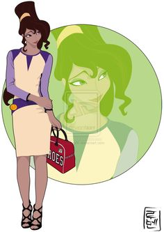 disney characters as modern college students--cool