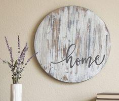 Chippy Decor Fixer Upper Style Farmhouse Sign Rustic #DIYHomeDecorFarmhouseStyle