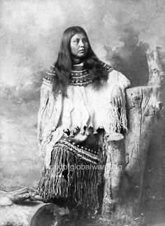 Photo CA 1879 Apache Woman, no name or location