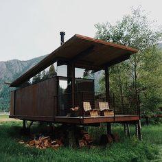 Weekend plans? Image from the Rolling Huts by @bontraveler #mytinyatlas in Washington State. by tinyatlasquarterly