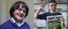 These two cartoonists for French magazine Charle Hebdo were murdered today for standing up for freedom of expression and satire