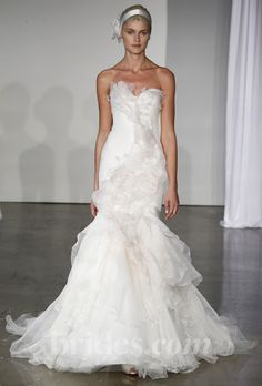 Brides: Marchesa - Fall 2013 : Now all it needs is a light blue bow and it will be PERFECT!