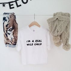 wild child tee | young one apparel
