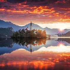 Different is beautiful.  Lake Bled by @ilhan1077   Discover the most hidden places on our travel map! www.mapiac.com