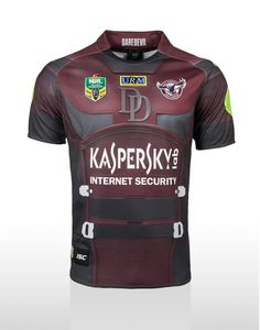 Official Manly Warringah Sea Eagles 2015 Mens ISC | Marvel DAREDEVIL Super Heroes Jersey | ISC