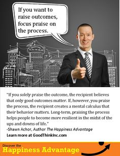 Praise the process... Learn More at GoodThinkInc.com