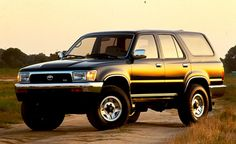 1994 Toyota 4Runner. This was my 6th car.  4WD....really fun SUV!