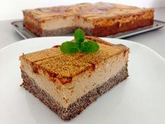 Slivkovo-makový šmakoun koláč