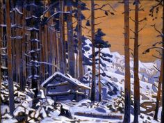 Н.К.Рерих. Дом Сольвейг в горах. 1912