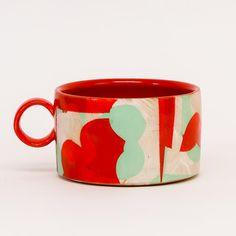 Pottery Painting Designs, Pottery Designs, Mug Designs, Ceramic Decor, Ceramic Clay, Ceramic Painting, Pottery Mugs, Ceramic Pottery, Cup Art