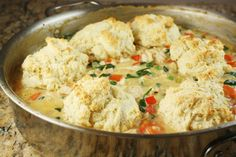 Chicken Skillet Pot Pie