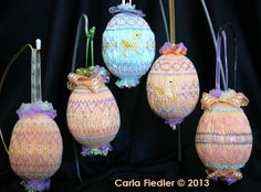 Smocked Easter Eggs